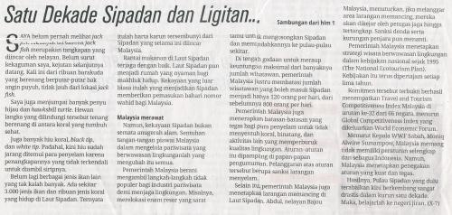 10 th Sipadan Ligitan 2