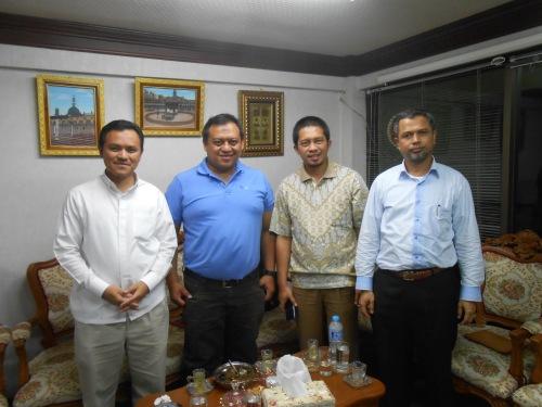 With Ust Abdullah Pohsa & Lukman