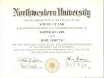 ijazah LLM NorthwesternUniversity0001