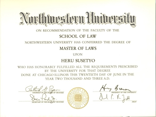 ijazah LLM Northwestern University0001